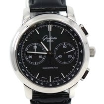 Glashütte Original Sixties Chronograph Steel 42mm Black United States of America, New York, New York