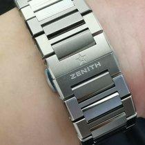 Zenith Defy El Primero Zenith Defy EL PRIMERO 21  case size 44mm Ti Bracelet 2018 new