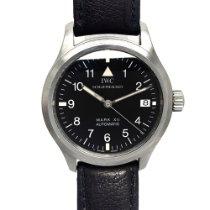 IWC Steel Automatic Black Arabic numerals 36mm pre-owned Pilot Mark