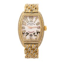 Franck Muller Or jaune 48mm Remontage automatique 8002 SC occasion
