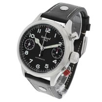Hanhart Steel 45mm Automatic 730.210.0010 new