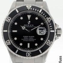 Rolex 16610 Stahl 1990 Submariner Date 40mm gebraucht Deutschland, Stuttgart