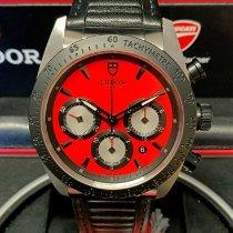 Tudor Fastrider Chrono Steel 42mm Red No numerals