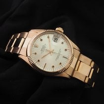 Rolex Rose gold Automatic 31mm pre-owned Oyster Perpetual Date