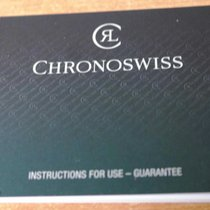 Chronoswiss vintage warranty booklet