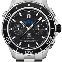 TAG Heuer Aquaracer 500M Steel Black United States of America, New York, Brooklyn