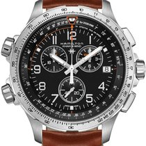 Hamilton Khaki Aviation H77912535 Herrenchronograph Fliegeruhr