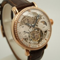 Poljot Rose gold 43mm Manual winding 3360.T555RG-W-D new