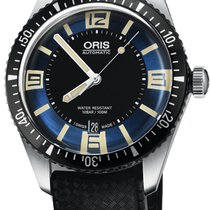 Oris Divers Sixty Five new Automatic Watch with original box and original papers 01 733 7707 4035-07 4 20 18