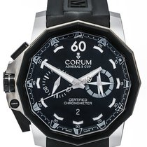 Corum Admirals Cup 50 LHS Chronograph Automatic Men's Watch...