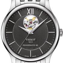 Tissot T-Classic Tradition Powermatic 80 Open Heart T063.907.1...