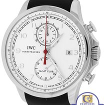 IWC Portuguese Yacht Club Chronograph 45mm Stainless Watch