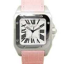 Cartier Santos Stainless Steel Silver Automatic W20126X8