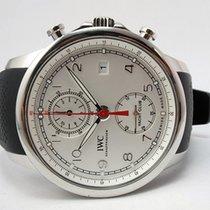 IWC Portugieser Yacht Club Chronograph neu 2019 Automatik Chronograph Uhr mit Original-Box und Original-Papieren IW390502