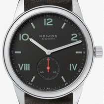 NOMOS Club Campus Steel 38,5mm Black