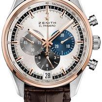 Zenith El Primero Chronomaster 51.2080.400/69.C494 ZENITH CHONOMASTER EL PRIMERO oro rosa nov