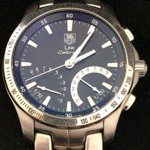 TAG Heuer Cronograf 42mm Cuart 2010 folosit Link Quartz Negru