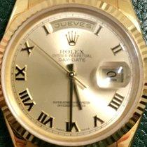 Rolex Day-Date 36 Gulguld 36mm Sverige, Trångsund