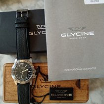 Glycine 40mm Automatic 2018 pre-owned Airman (Submodel) Black