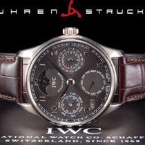 IWC Or blanc 42mm Remontage automatique IW502218 occasion