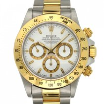 Rolex Daytona Acero 40mm Blanco