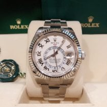 Rolex White gold 42mm Automatic M326939-0001 new