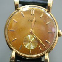 Zodiac Yellow gold Manual winding pre-owned