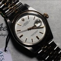 Rolex Datejust Acero y oro 36mm Blanco Sin cifras