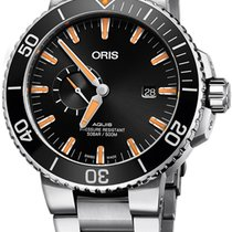 Oris Aquis Small Second Steel 45.5mm Black United States of America, California, Moorpark