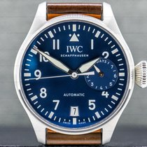 IWC Big Pilot pre-owned 46mm Date Calf skin