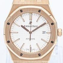 Audemars Piguet Royal Oak Selfwinding Rose gold 41mm Silver No numerals United States of America, Georgia, ATLANTA