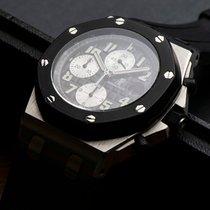 Audemars Piguet Royal Oak Offshore Chronograph gebraucht 42mm Schwarz Chronograph Datum Kautschuk