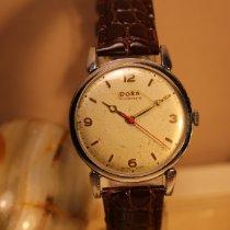 Doxa Acél 36mm Kézi felhúzás Antimagnetic Swiss Vintage 1970 wirst watch mechanical használt Magyarország, Budapest