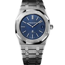 Audemars Piguet Royal Oak Jumbo Steel 39mm Blue No numerals United States of America, Virginia, Mclean