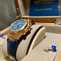 Girard Perregaux Laureato Or rose 38mm Bleu Sans chiffres France, PARIS