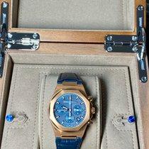 Girard Perregaux Or rose Remontage manuel Bleu Sans chiffres 38mm nouveau Laureato