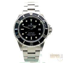 Rolex Sea-Dweller 4000 gebraucht 40mm Schwarz Datum Stahl