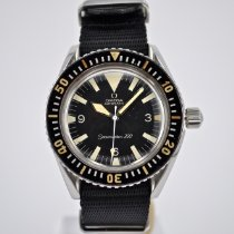 Omega Seamaster 300 pre-owned 41mm Black Buckle