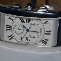 Cartier Tank Américaine White gold 28mm White Roman numerals United States of America, New York, Greenvale