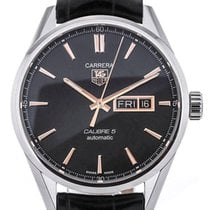 TAG Heuer Carrera Day Date 41 Automatic Black Rose Gold...