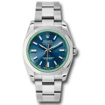 Rolex 116400GV BLO Steel Milgauss 40mm new United States of America, Pennsylvania, Holland