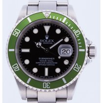 Rolex Submariner 16610LV Fat Four Never polished