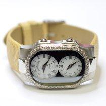 Philip Stein Teslar 26x35mm Stainless Steel Ladies Watch on...