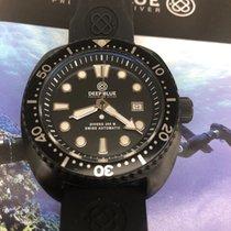 Deep Blue Military Diver 300 M PVD Black Swiss Automatic
