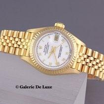 Rolex Lady-Datejust Gelbgold 26mm Champagnerfarben Keine Ziffern Deutschland, Düsseldorf