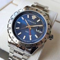 Versace Swiss Made Hellenyium GMT Sapphire