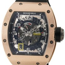 Richard Mille RM030 RG/Ti 18K Rose Gold Self Winding Men's Watch
