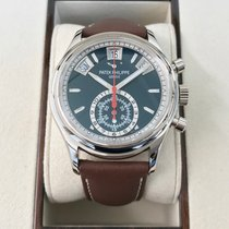 Patek Philippe Flyback Chronograph Annual Calendar White Gold