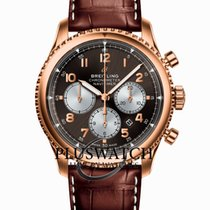 Breitling Red gold Automatic Arabic numerals 43mm new Navitimer 8