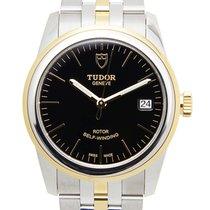 Tudor Glamour Date новые 36mm Золото/Cталь